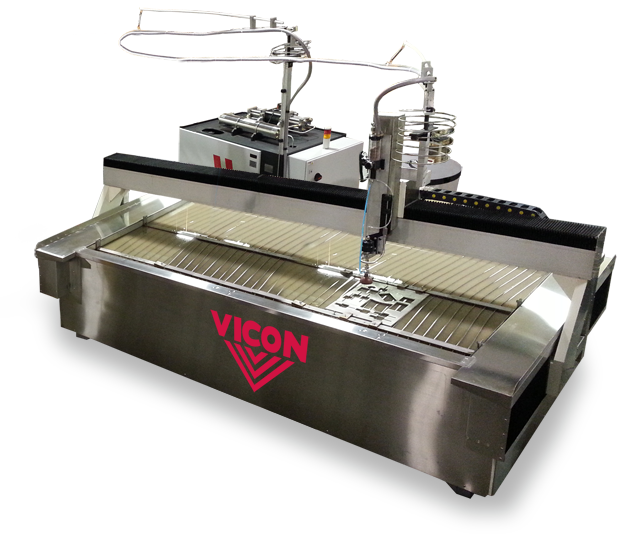 Vicon Abrasive Waterjet Cutting System 5' x 10'